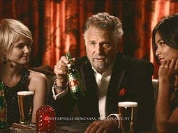 dos equis most interesting man is a great beer salesman news