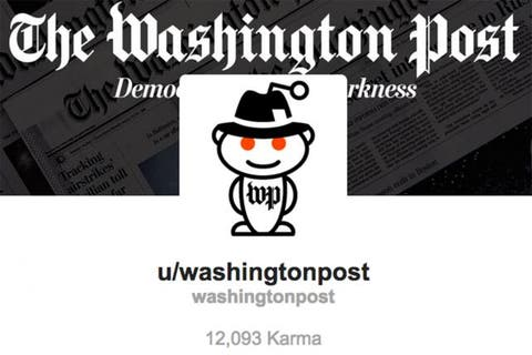 The Washington Post Gets Its Own Reddit Page Digital Ad Age