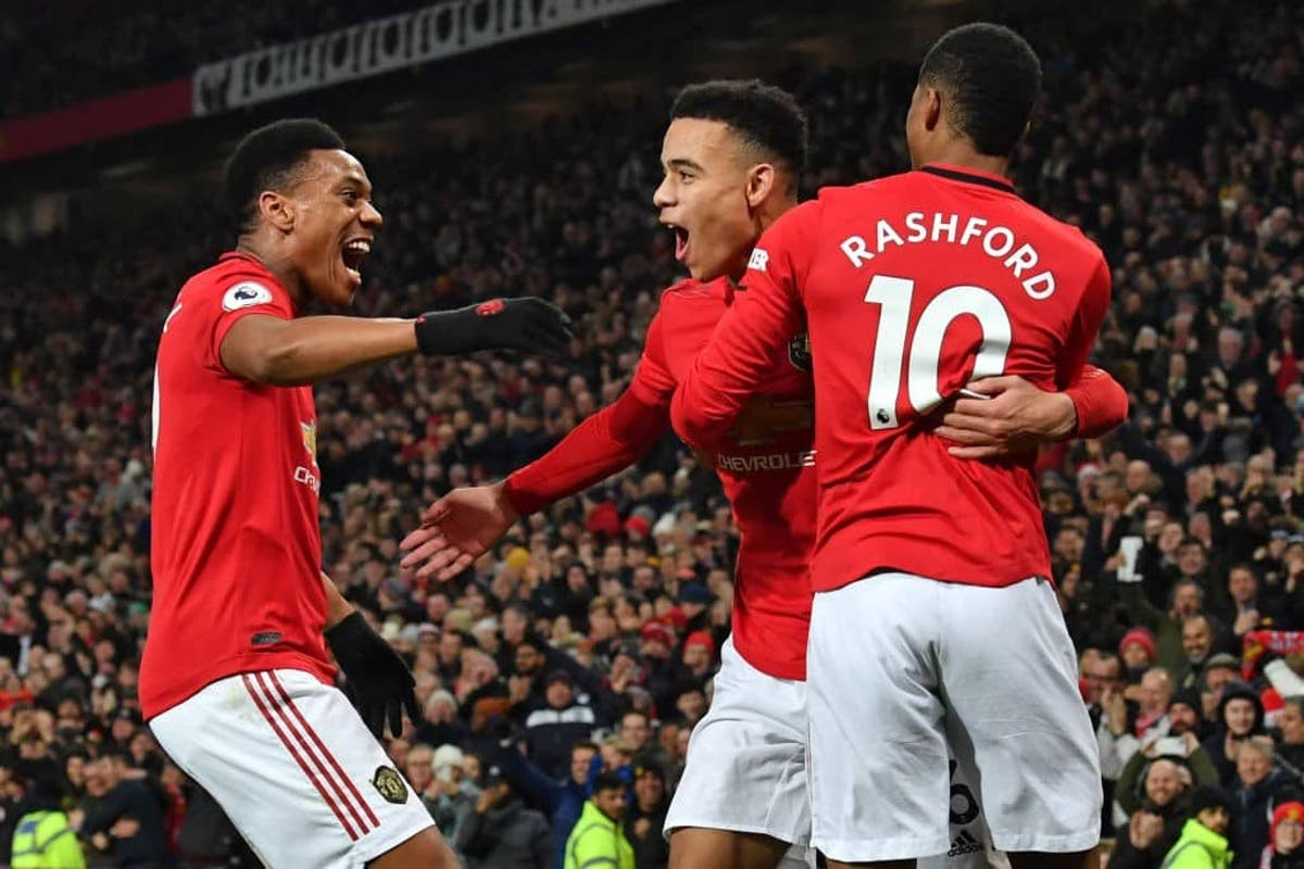Video Manchester United Post Brilliant Finishing Show From Attackers