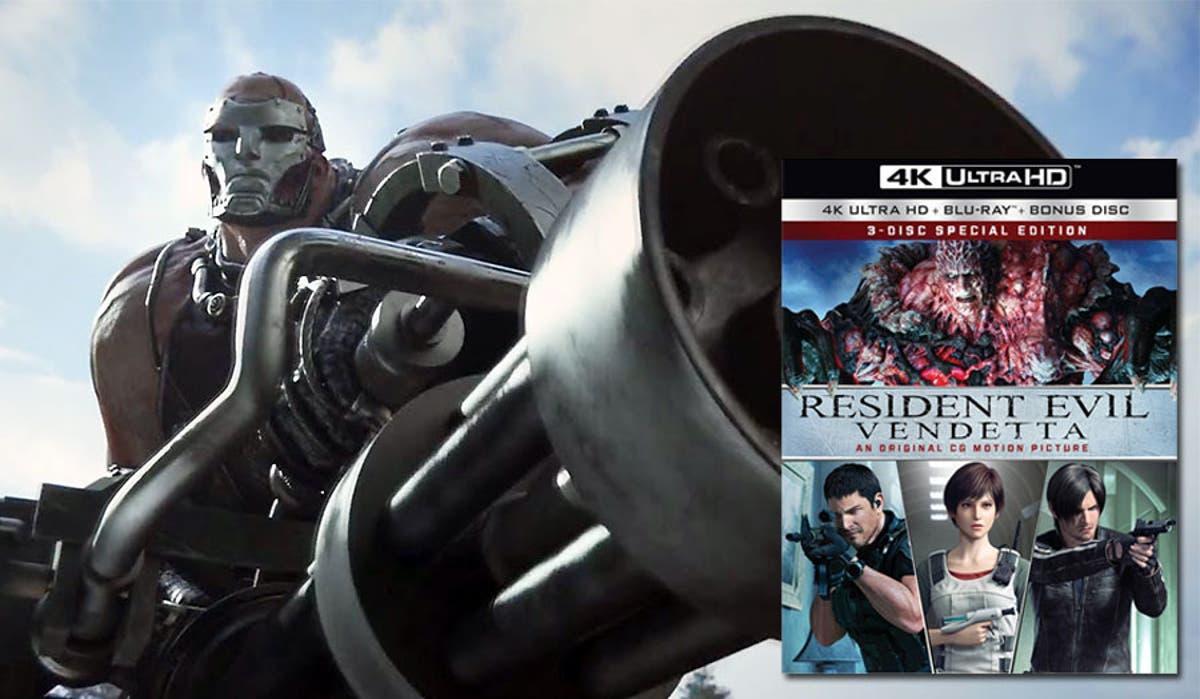 Resident Evil Vendetta Review 4k Uhd Washington Times
