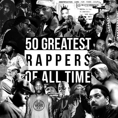 The 50 greatest rappers of all time - ranked | Gigwise