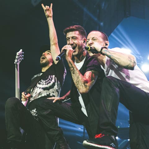 Awesome photos of Linkin Park rocking London's O2 Arena