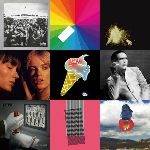 The 40 best albums of 2015 so far | Gigwise