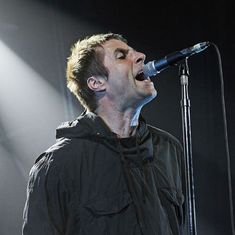 Image result for liam gallagher singing