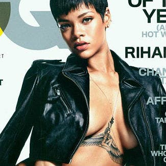 Rihanna nude gq have