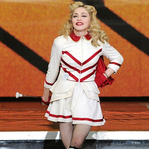 Madonna knows who the real Illuminati are but she's not one of them