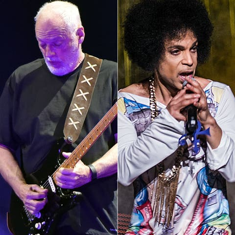 David Gilmour mashes up 'Comfortably Numb' with Prince's 'Purple
