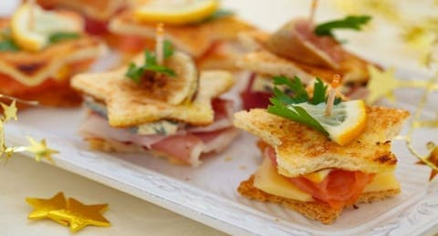 simple recipes for a christmas party appetizers snacks